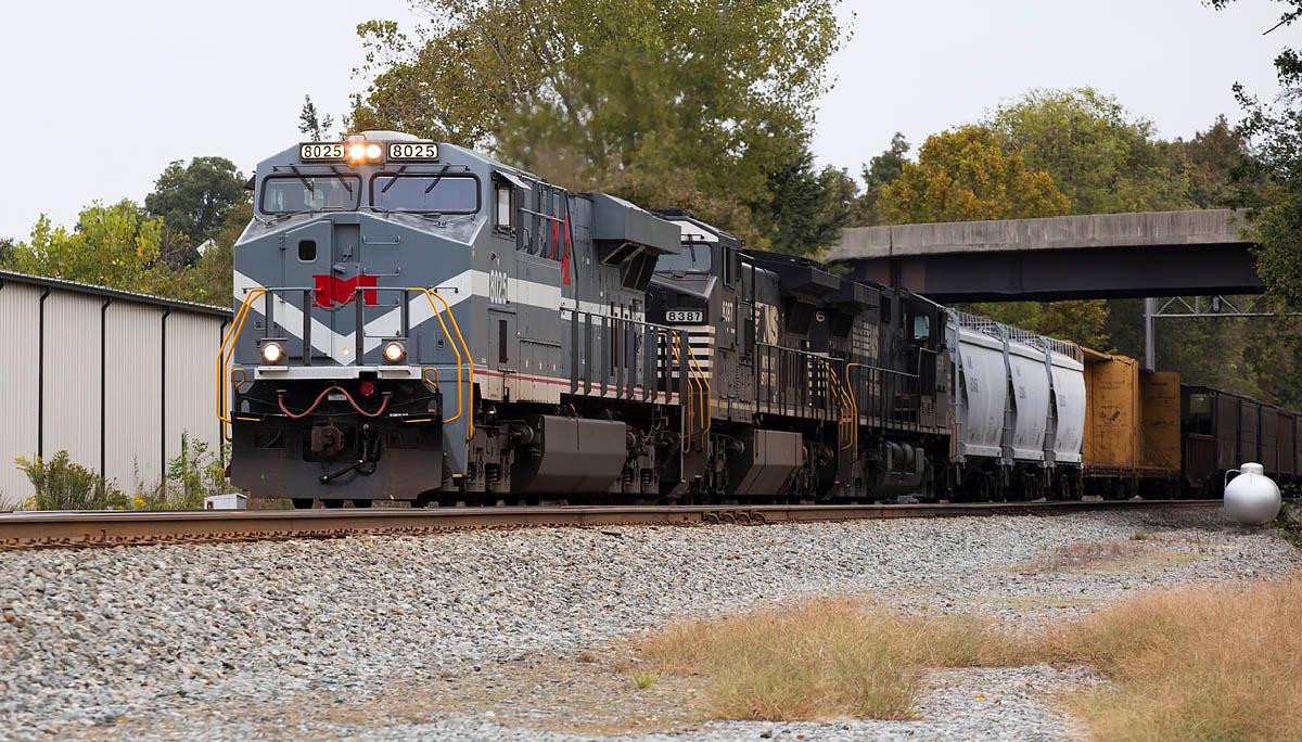 NS train 11R Linwood,NC 10/10/13.