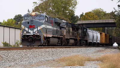 NS train 11R Linwood,NC 10/10/13.
