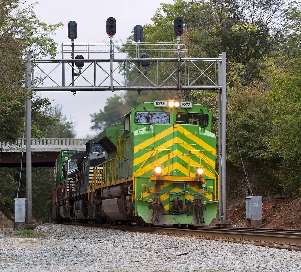 NS train 213 Lexington,NC 10/10/13.