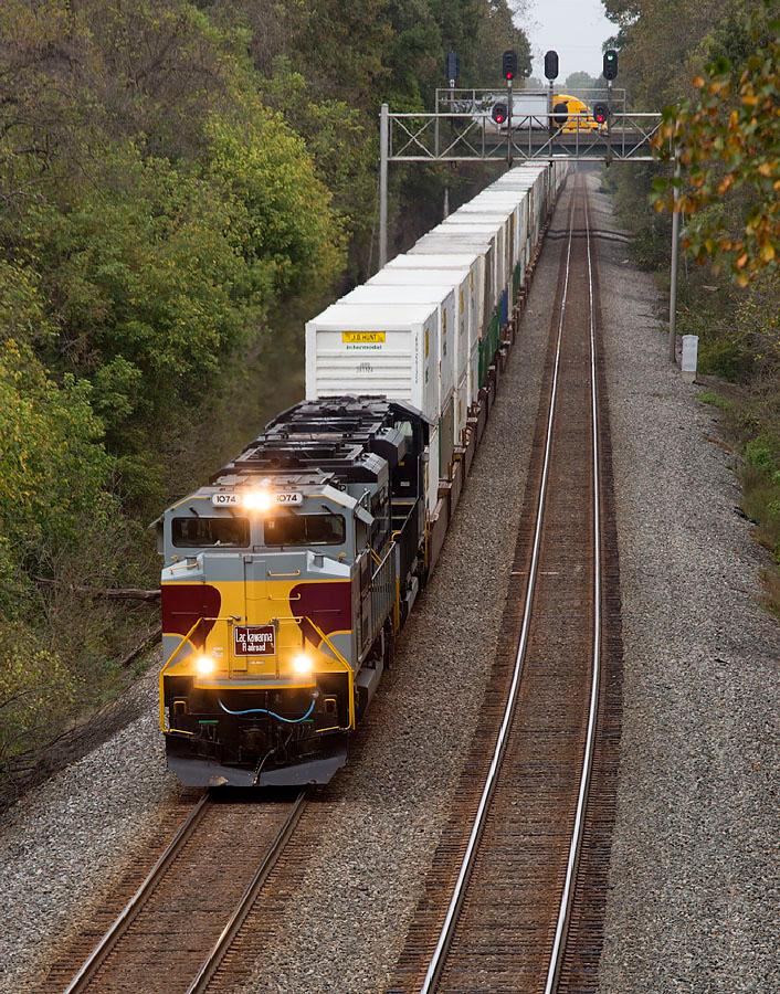 NS train 218 Linwood,NC 10/10/13.