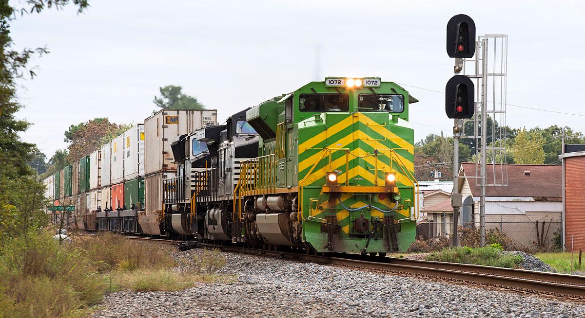 NS train 204 Kannapolis,NC 10/8/13