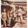 rebuilding a bunker  ChuLai Navsuppact 1967