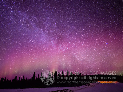 2013-03-13 Aurora and Milky Way