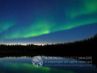 2013-08-25 Aurora Reflections