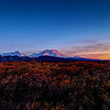 Mt McKinley and the Alaska Range at Sunset.<br /> COPYRIGHT NORTHERN SOURCE IMAGES © 2013