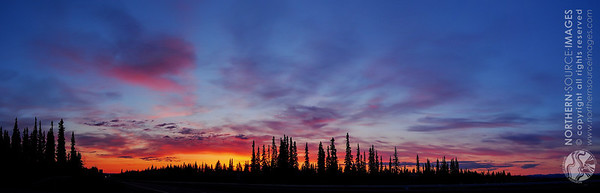 North Pole Sunset (HDR) COPYRIGHT NORTHERN SOURCE IMAGES © 2013