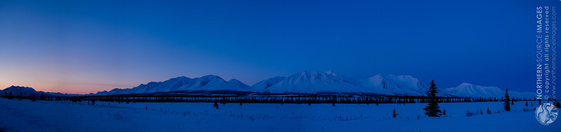 Broad Pass before sunrise, May 2013. COPYRIGHT NORTHERN SOURCE IMAGES © 2013