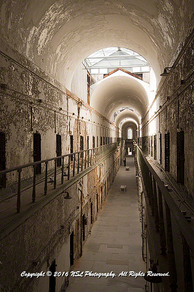 Eastern State Penitentiary - Cellblock 7