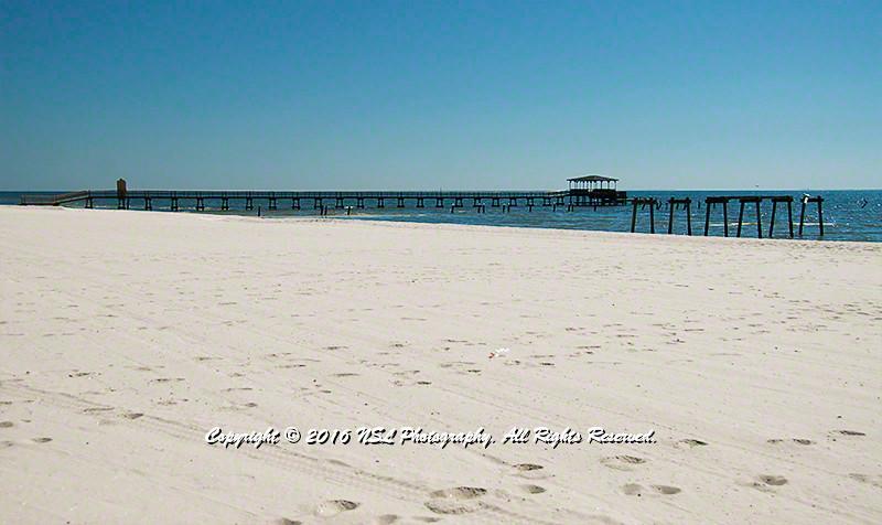 Harrison County Beach on the Mississippi Gulf Coast