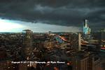 The Gathering Storm, Center-City Philadelphia.