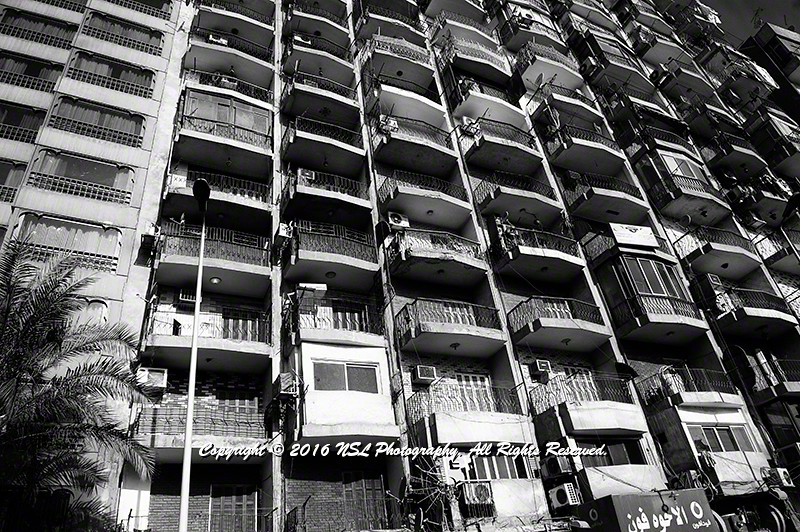 Cairo, Egypt apartment buildings