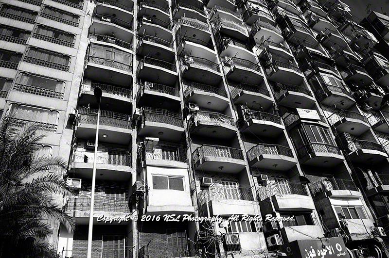 Cairo, Egypt apartment buildings