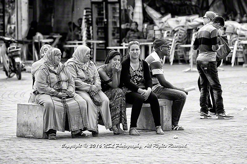 Traditional meets 21st century at the medina in Meknes
