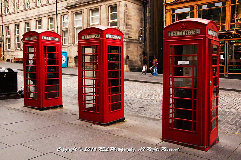 Royal Mile, Edinburgh Scotland