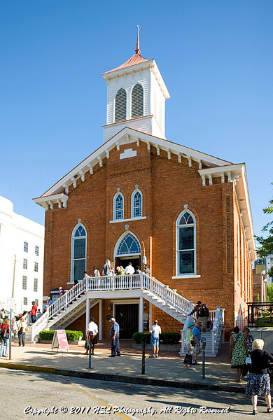 Dexter Avenue King Memorial Baptist Church during the Southern Poverty Law Center 40th Anniversary Celebration