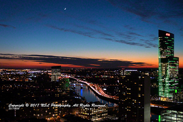 From the Murano Condominium at Sunset in Philadelphia, PA