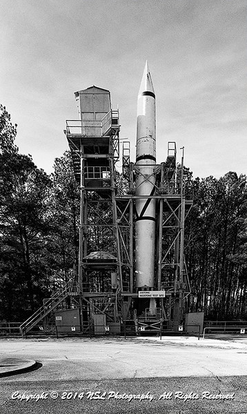 Redstone Test Stand, or Interim Test Stand built in 1953 at the Marshall Space Flight Center