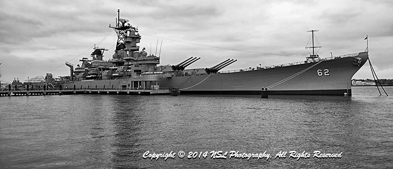 Battleship New Jersey, The Big J, museum and memorial at anchor in the Delaware River in Camden, across from Philadelphia.