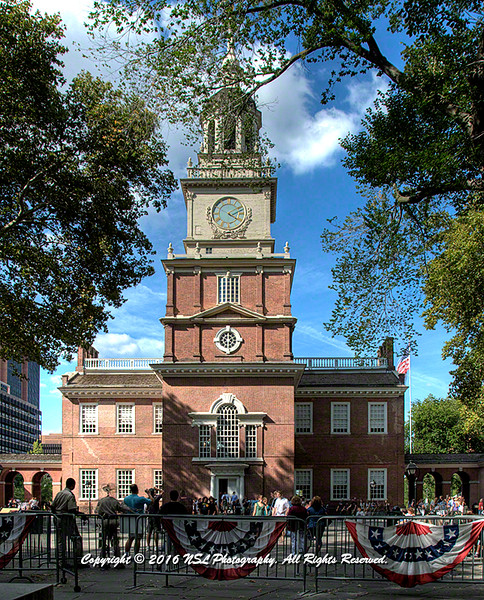 Independence Hall, Independence National Historic Park, Philadelphia, PA