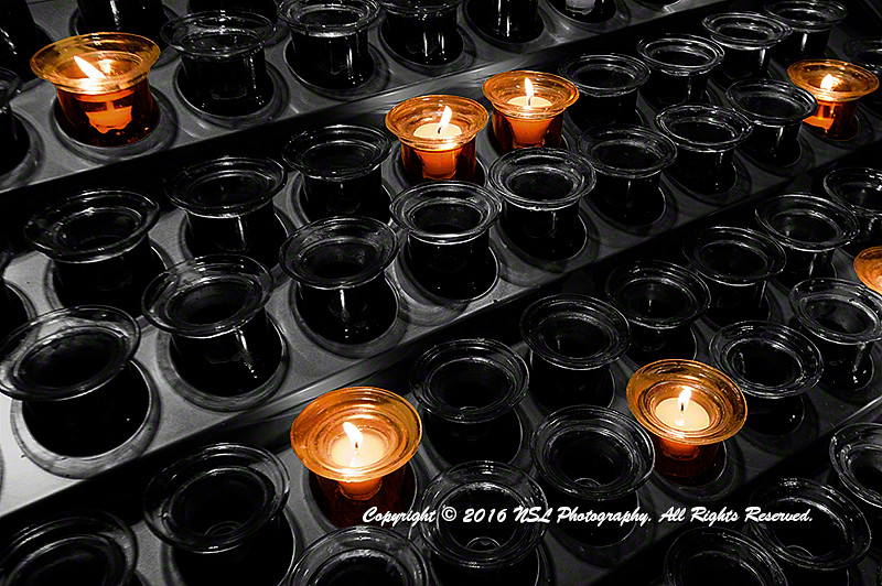 Hope - Candles in St. Patricks Cathedral