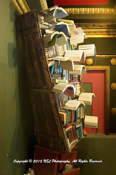 """Books in Flight"" at The Last Bookstore"