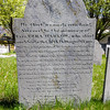 He that wounds can heal. | Sacred to the memory of | Capt. EZRA HARLOW, who died | suddenly Oct. 27th. 1810 aged 68 yrs.