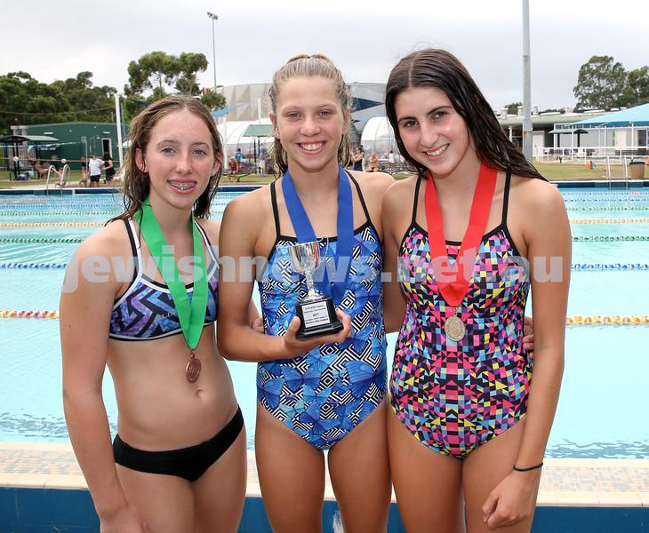 NSW Jewish Swimming Championships. Pic Noel Kessel