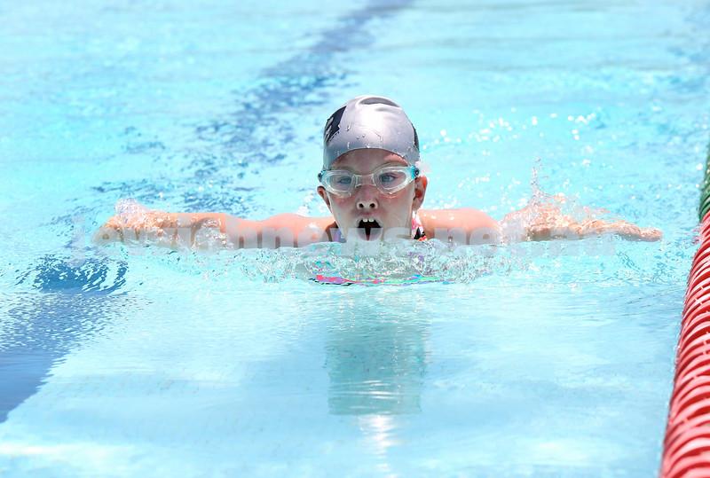 Maccabi Jewish Swimming Championships. Girls 50m Butterfly. Pic Noel Kessel.