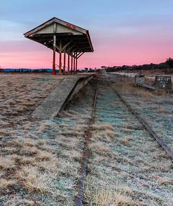 NSW 44 Wallangarra Historic Train Station