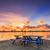 YBA 05 Picnic Table Sunrise
