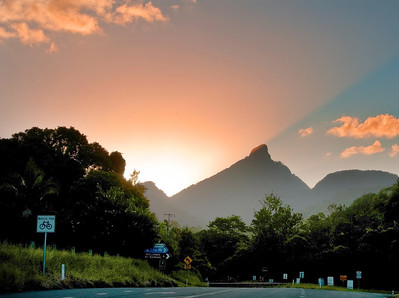 NSW 21  Mt Warning Sunset