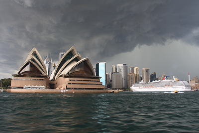 Storm Brewing on the Sydney Harbour