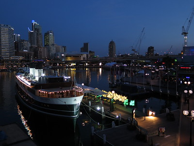 The Lights of Darling Harbour