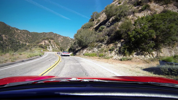NSX Canyon Drive - Little Tujunga Canyon Road