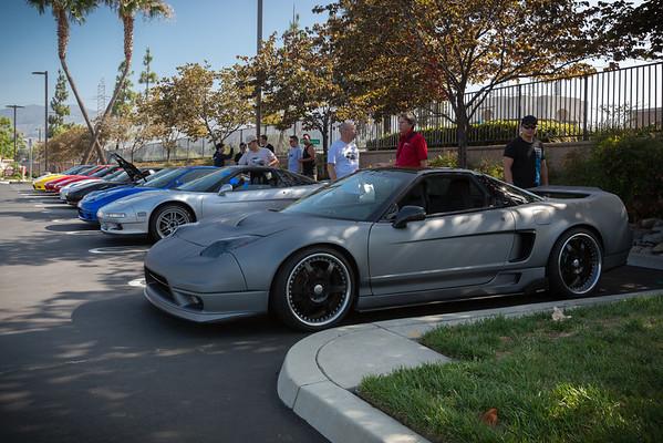 Javier's (racer9x) matte gray NSX