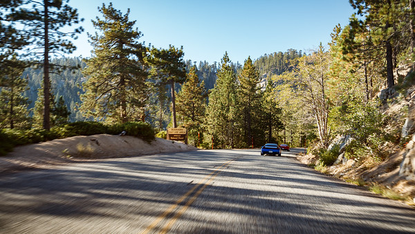 Back on Angeles Crest Highway, passing Buckhorn Campground
