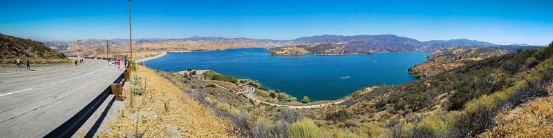 Castaic Lake Smartphone Panorama