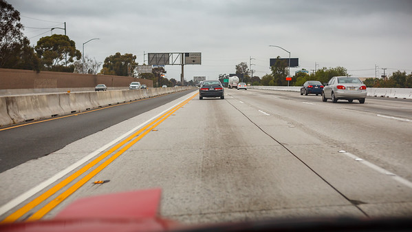 On the 405...if only traffic was always this light