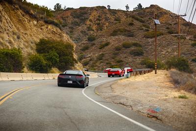 Ascending Latigo Canyon Road...the drive is ON!