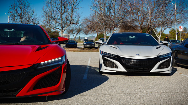Two of three 2019s that are here today (courtesy of Acura)