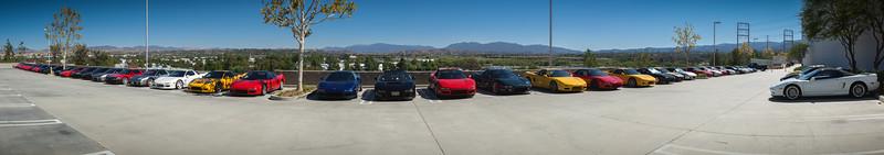 Honda Performance Development Welcomes CalCoastal NSX Canyon Drive 12 Panorama (hugin-stitched)