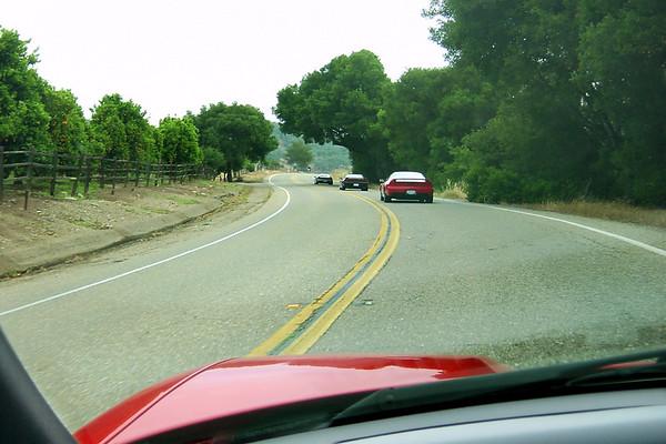 Westbound on Highway 150