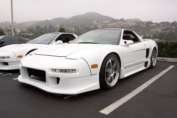 White NSXs are well represented today