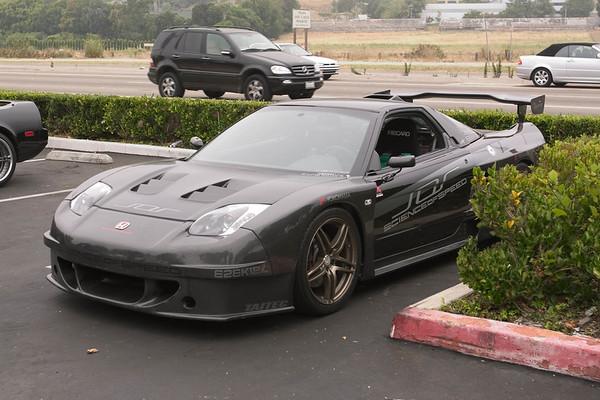 ...anchored by Seth's (Honda4Life) carbon fiber beast, a car I first saw at