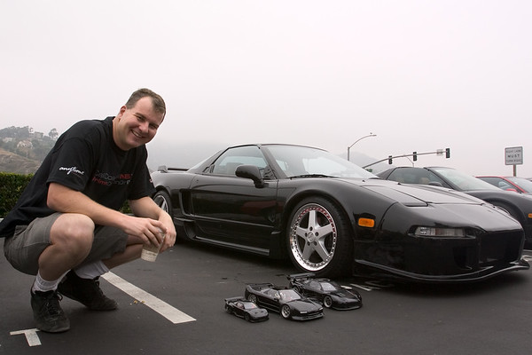 Marc (NSXTC), a former NSXer, checks out Randy's collection...