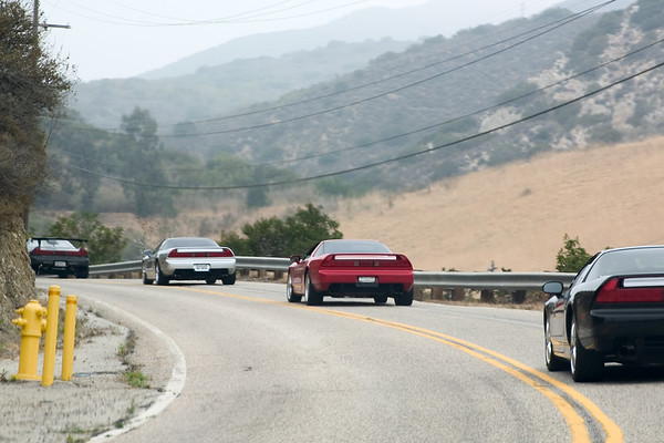Once we hit Latigo Canyon Road, the fun begins!