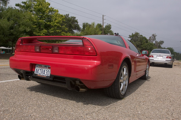 For this next segment, my NSX is REALLY ready to roll...