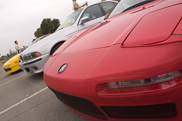 John (ANYTIME) and I (akira3d) show off Speed Lingerie, Marc (NSXTC) shows off M5