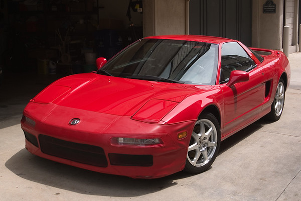 Since Valerie and I hope to sell our townhome this summer, this is likely the last time I will put the Speed Lingerie nose mask on my NSX while it is parked on this particular driveway.