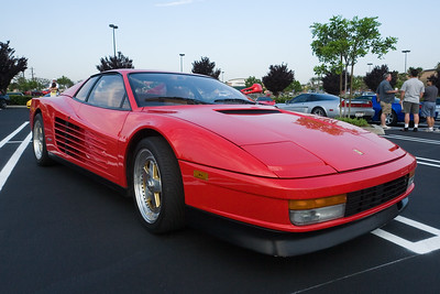 A local (and apparently a lurker on NSX Prime) shows up in his Ferrari Testarossa